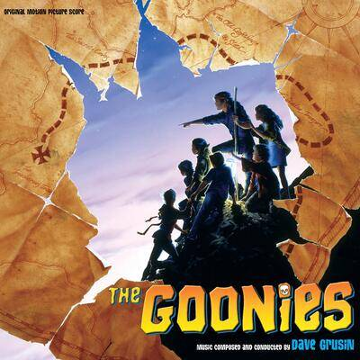 Cover art for The Goonies (Original Motion Picture Score) (Willy's Gold Vinyl Variant)