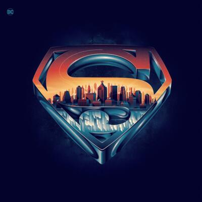 Cover art for Superman: The Movie (Original Motion Picture Soundtrack) (Splattered Vinyl Variant)