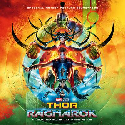 Cover art for Thor: Ragnarok (Original Motion Picture Soundtrack)