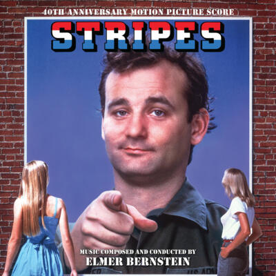 Cover art for Stripes (40th Anniversary Motion Picture Score)