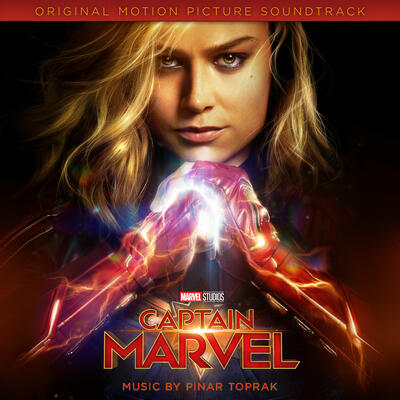 Cover art for Captain Marvel (Original Motion Picture Soundtrack)
