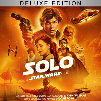 Cover art for Solo: A Star Wars Story: The Deluxe Edition (Original Motion Picture Soundtrack)