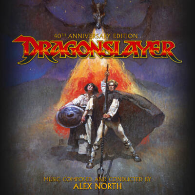 Cover art for Dragonslayer: 40th Anniversary Edition