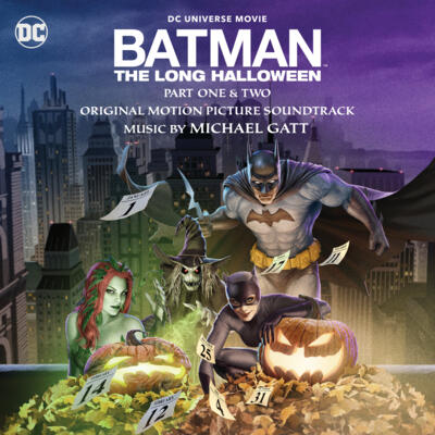 Cover art for Batman: The Long Halloween - Part One & Two (Original Motion Picture Soundtrack)