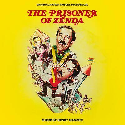 Cover art for The Prisoner of Zenda (Original Motion Picture Soundtrack)