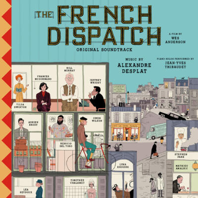 Cover art for The French Dispatch (Original Soundtrack)