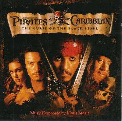 Cover art for Pirates of the Caribbean: The Curse of the Black Perl