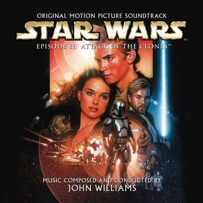 Cover art for Star Wars: Episode II - Attack of the Clones