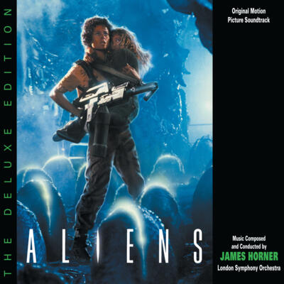Cover art for Aliens: The Deluxe Edition (Original Motion Picture Soundtrack)