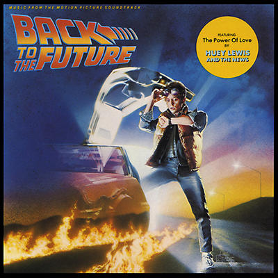 Cover art for Back to the Future