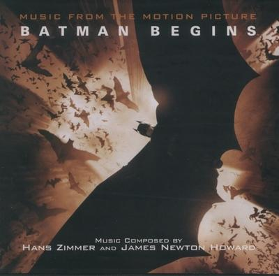 Cover art for Batman Begins
