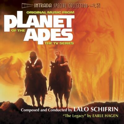 Cover art for Planet of the Apes (TV-Series)