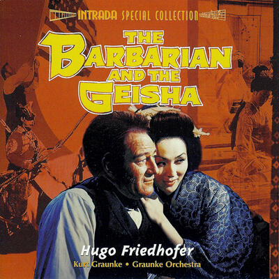 Cover art for The Barbarian and the Geisha