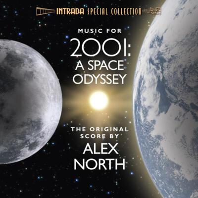 Cover art for 2001 - A Space Odyssey (The Original Score)