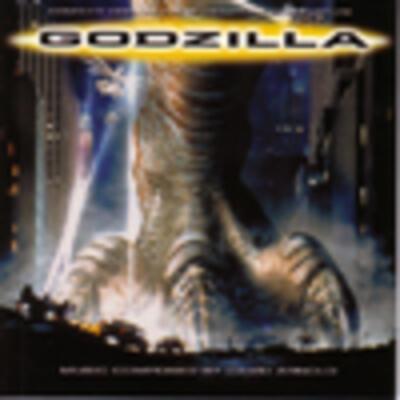 Cover art for Godzilla