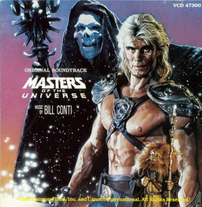 Cover art for Masters of the Universe (Original Soundtrack)