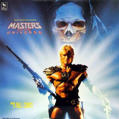 Cover art for Masters of the Universe