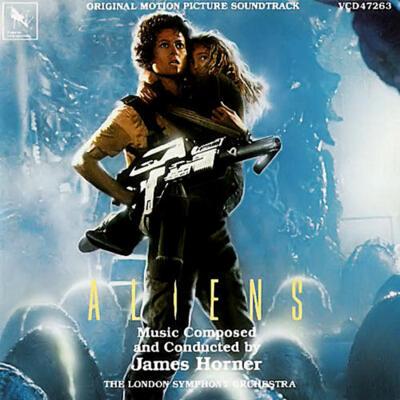 Cover art for Aliens (Original Motion Picture Soundtrack)