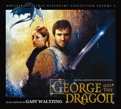 Cover art for George and the Dragon