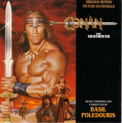 Cover art for Conan the Destroyer