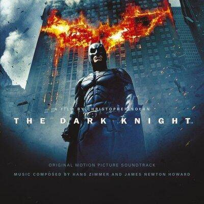 Cover art for The Dark Knight