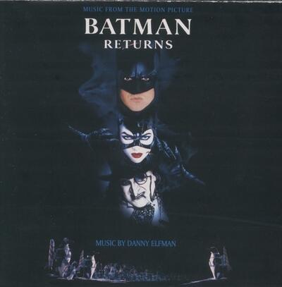 Cover art for Batman Returns