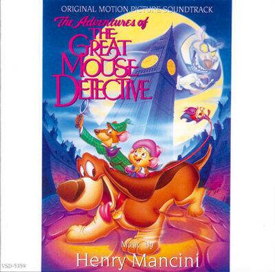 Cover art for The Adventures of the Great Mouse Detective (Original Motion Picture Soundtrack)