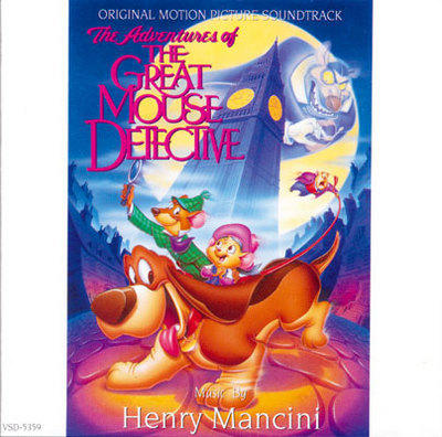 Cover art for The Adventures of the Great Mouse Detective
