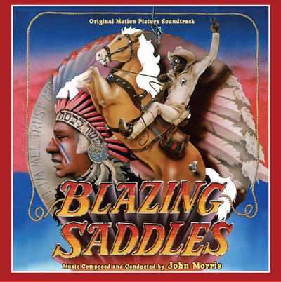 Cover art for Blazing Saddles