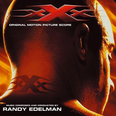 Cover art for xXx (Original Motion Picture Score)