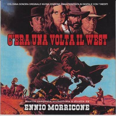 Cover art for C'era una volta il West