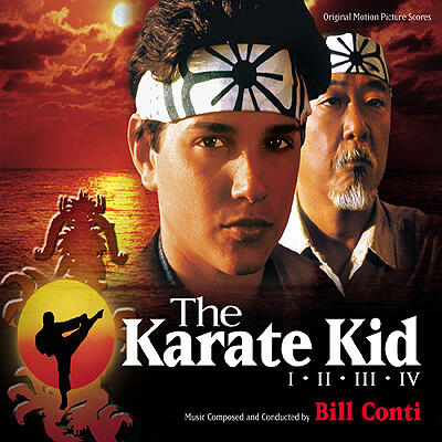 Cover art for Karate Kid, The: I - II - III - IV (Original Motion Picture Scores)
