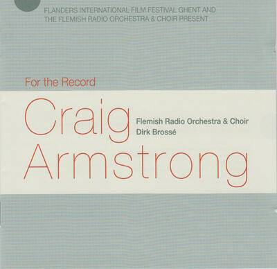 Cover art for For the Record: Craig Armstrong
