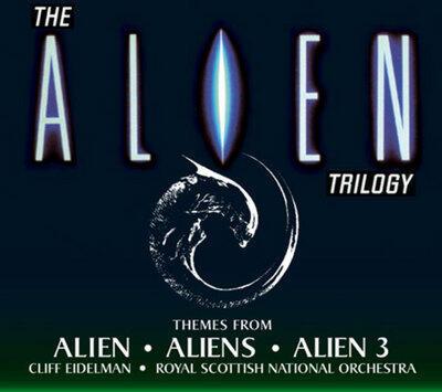 Cover art for The Alien Trilogy