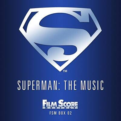 Cover art for Superman: The Music (1978-1988)