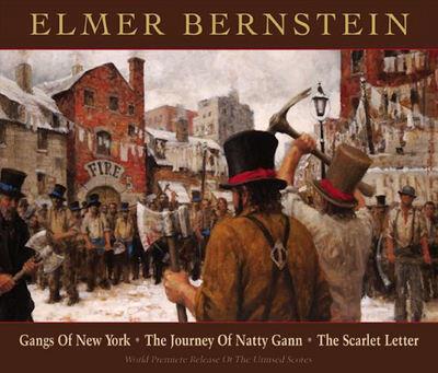 Cover art for Gangs of New York / The Journey of Natty Gann / The Scarlett Letter