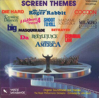 Cover art for Screen Themes, Volume I