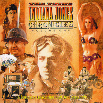 Cover art for The Young Indiana Jones Chronicles (Volume 1)