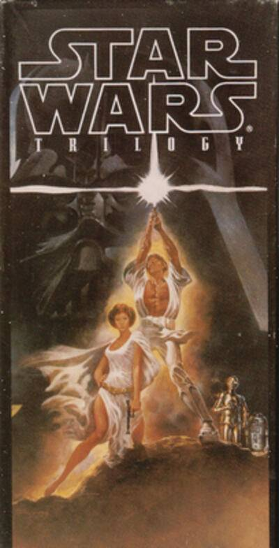 Cover art for Star Wars Trilogy