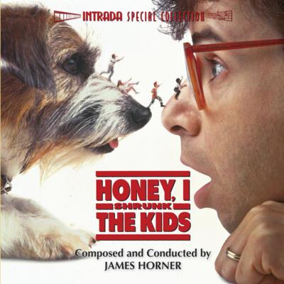 Cover art for Honey, I Shrunk the Kids