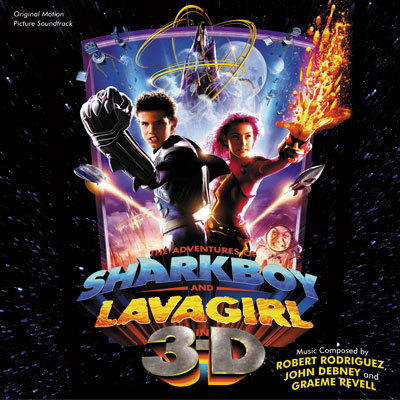 Cover art for The Adventures of Sharkboy & Lavagirl in 3-D
