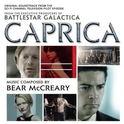 Cover art for Caprica