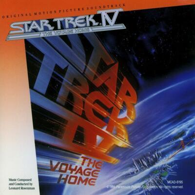 Cover art for Star Trek IV: The Voyage Home