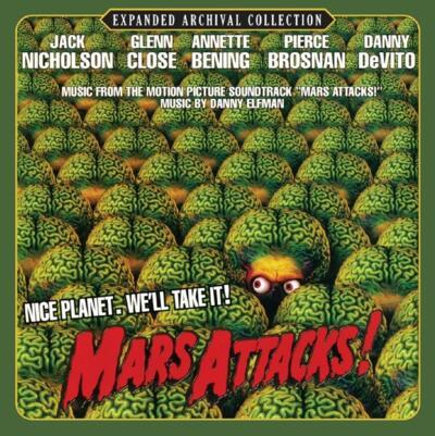 Cover art for Mars Attacks!