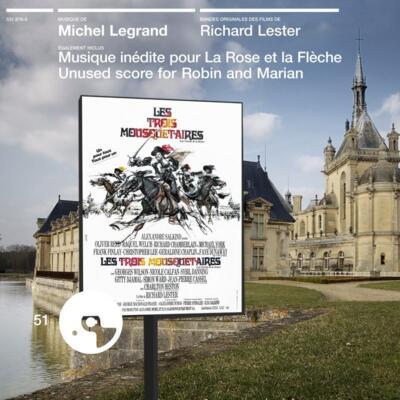 Cover art for Les Trois mousquetaires / La Rose et la flèche