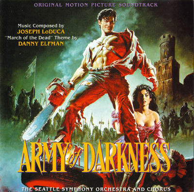 Cover art for Army of Darkness (Original Motion Picture Soundtrack)