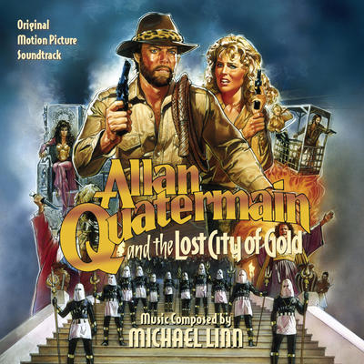 Cover art for Allan Quatermain and the Lost City of Gold
