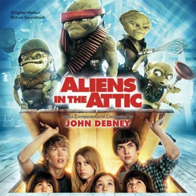 Cover art for Aliens in the Attic