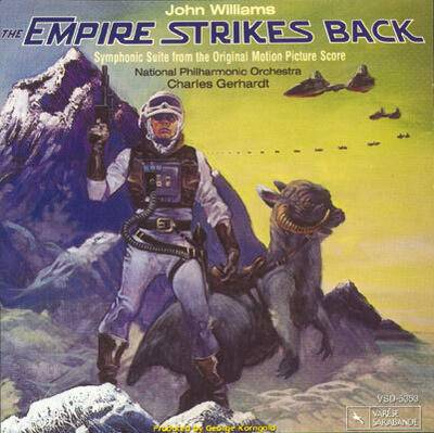 Cover art for Star Wars: Episode V - The Empire Strikes Back (Symphonic Suite from the Original Motion Picture Score)
