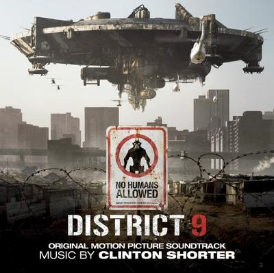 Cover art for District 9